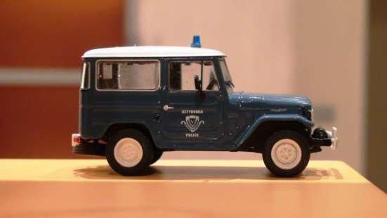 полицейские машины мира №18 TOYOTA LAND CRUISER FJ40 в Липецке Фото 3