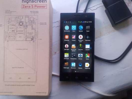 Смартфон Highscreen Zera s Power