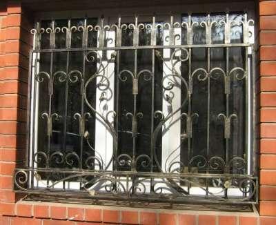 Металлические решетки ажурные, простые в г. Самара Фото 1