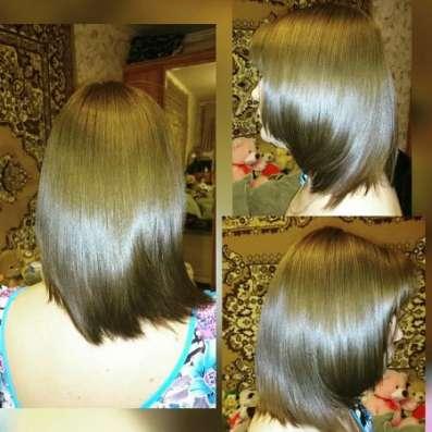 Кератиновое выпрямление и полировка волос в Щелково Фото 2