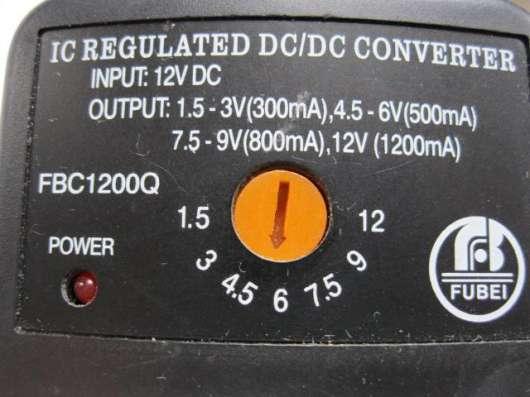 Преобразователь напряжения автомобильный FBC1200C 12в