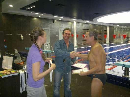 Обучение плаванию, персональные и групповые тренировки в Москве Фото 1