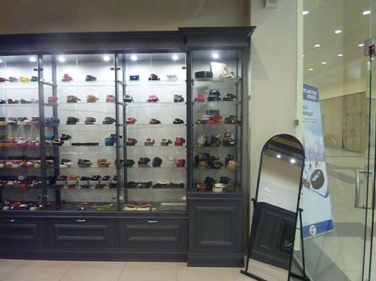 Торговая оборудование витрины для секции