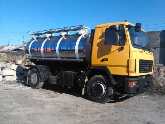 Молоковозы объемом до 10 м3 на шасси МАЗ 5340В2, КАМАЗ 53605 (Евро-4)