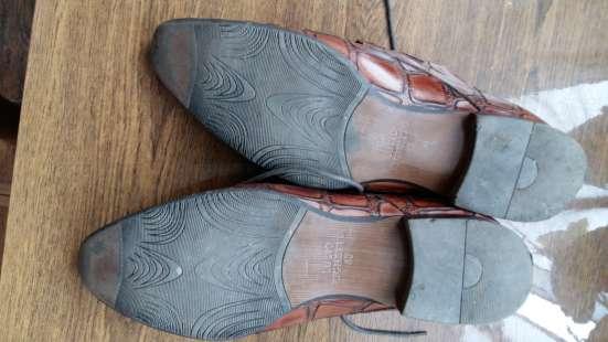 Туфли кожаные. Lucio Righertto.тиснение под крокодила.43 р-р в Краснодаре Фото 3