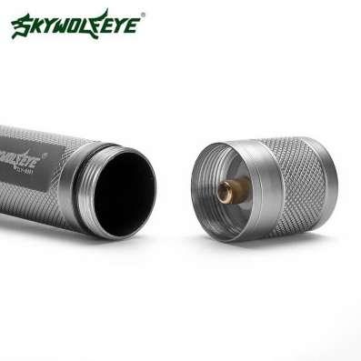 Новый светодиодный фонарь фирмы Skywolfeye серебрянный