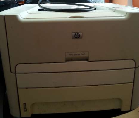 Принтер в рабочем состоянии
