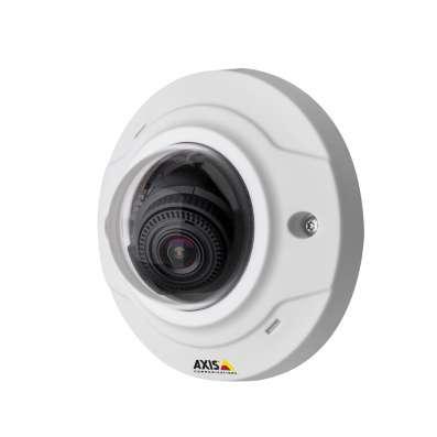 Фиксированная купольная сет. камера AXIS M3005-V