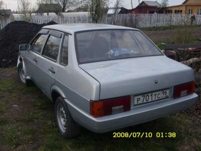 подержанный автомобиль ВАЗ 21099, цена 80 000 руб.,в Первоуральске Фото 5