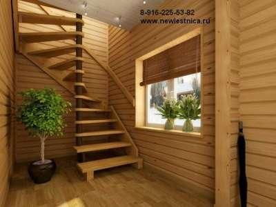 Красивые лестницы для дома и коттеджа Новая Лестница в Дмитрове Фото 5