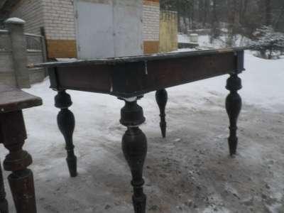 Старинный обеденный стол в Москве Фото 3