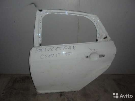 Дверь задняя левая бу на Ford Focus 3
