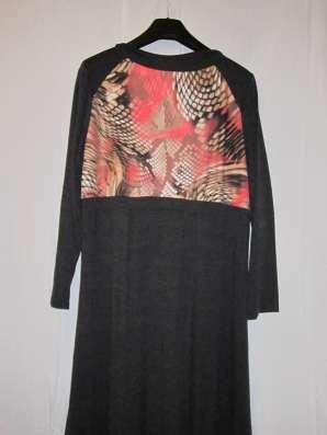 Платье трикотажное (размер-56)