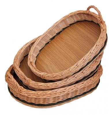 Плетеные корзины, изделия из дерева, сувенир. ОПТ в Москве Фото 1