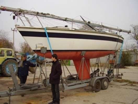 Транспортировка катеров, килевых яхт в г. Керчь Фото 1