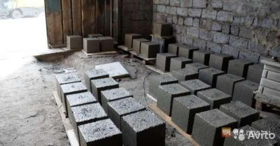 Блок фундаментный 300х300х300 с крюком в Новосибирске Фото 1