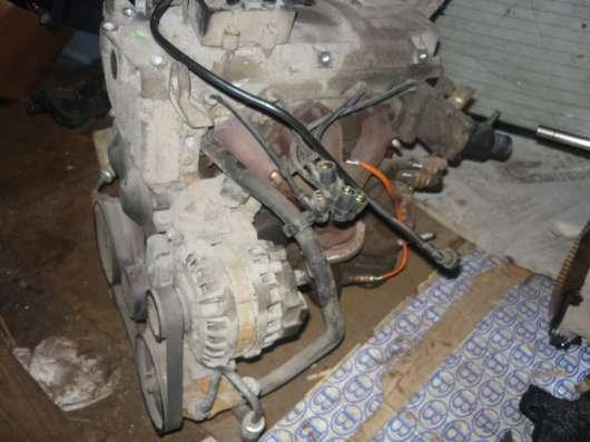 Renault Sandero двигатель в сборе 1.6л. K7MF710 в Санкт-Петербурге Фото 2