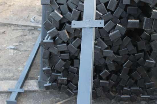 Металлические столбы для заборов