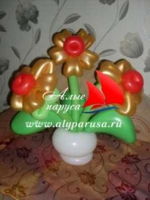 Подарки из шаров в Новосибирске Фото 3