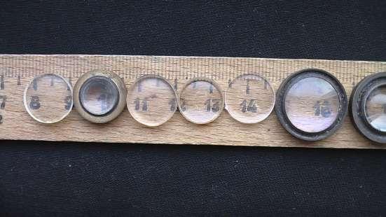 Фото линзы разные и разных диаметров большие и малые.