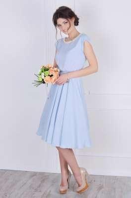 Платье шифоновое в голубом цвете от Scandal Sonya в г. Харьков Фото 2