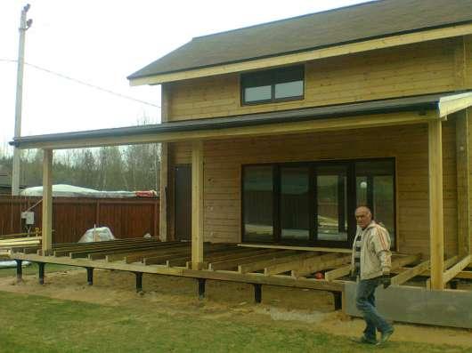 Строительство домов, беседок, заборов, крыш, терас в Воскресенске Фото 4
