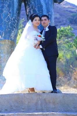 Продаю очень красивую европейскую свадебную платье в г. Алматы Фото 2