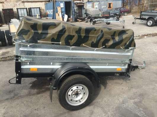 Легковой прицеп автомобильный КМЗ 20A Комуфляж в Москве Фото 5