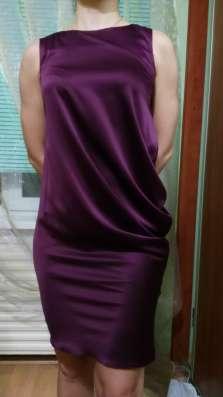 Платье винного цвета