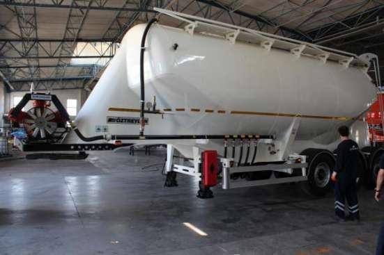 Полуприцеп для перевозки сыпучих грузов 30 м3. в Москве Фото 1