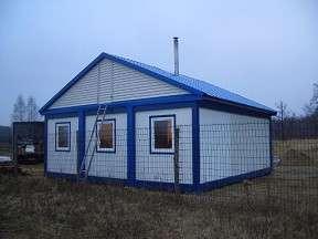 Бытовки строительные, дачные домики, модульные дома