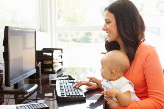 Работа в инете для домохозяек, женщин в декрете, пенсионеров