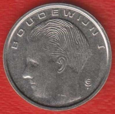 Бельгия 1 франк 1990 г. BELGIE в Орле Фото 1
