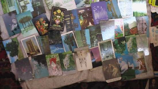 Календарики СССР разные темы в Саратове Фото 5