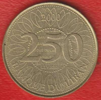 Ливан 250 фунтов 2000 г.