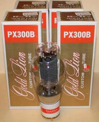 Радиолампы PX 300B Genalex Gold Lion