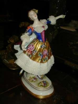 Старинная статуэтка БАЛЕРИНА(М.Тальони),