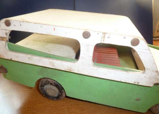 Игрушка машина деревянная СССР 1950 винтаж в Орле Фото 5