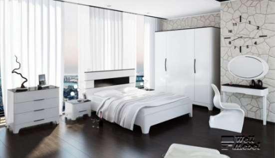 Белая спальня Верона «Мебель Неман»