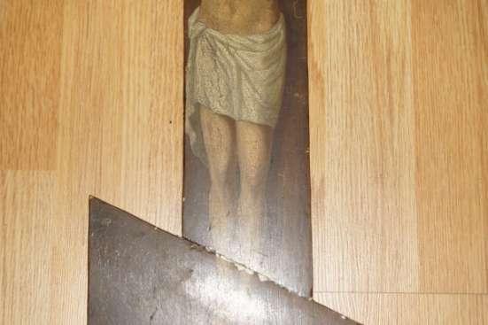 Старый русский православный запрестольный крест. Российская Империя, нач. XIX века.