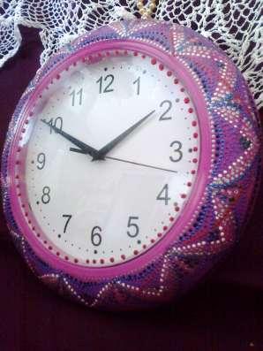 Часы настенные. Ручная работа
