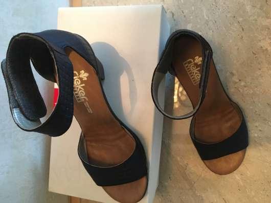 Размер 37. Качественные туфли немецкой фирмы Rieker в Уфе Фото 1