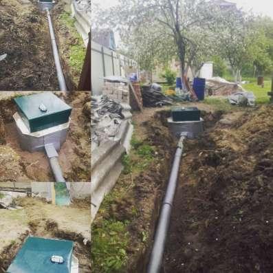 Автономная канализация под ключ за 1 день в Санкт-Петербурге Фото 1