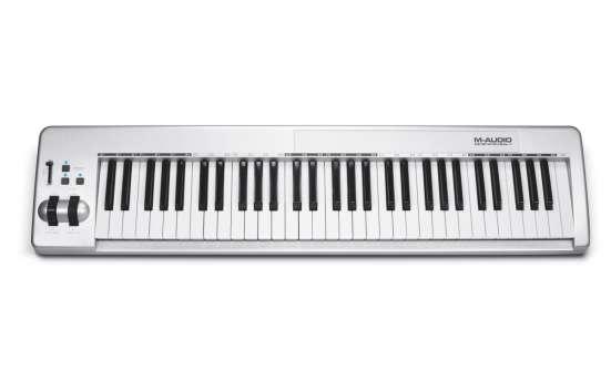 Keystation 61es USB MIDI