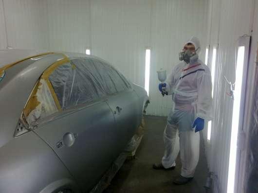 Рихтовка, покраска и полировка автомобиля
