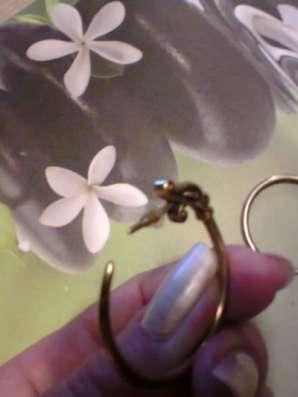 серьги-кольца из латуни в Санкт-Петербурге Фото 4