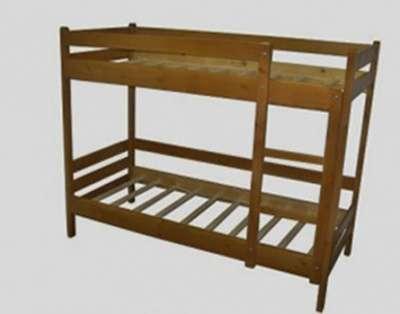 Кровать 2-х. ярусная из массива сосны. Кровати из массива