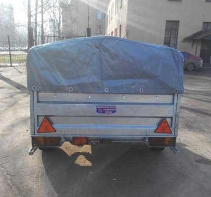 Оцинкованный прицеп для легкового автомобиля 2200х1300