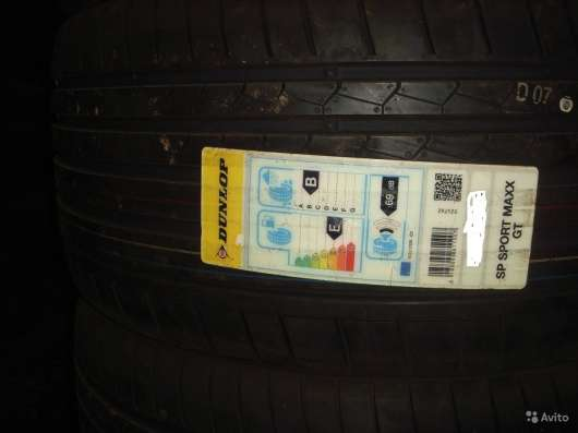 Новые комплекты данлоп 235/35ZR19 спортмакс GT