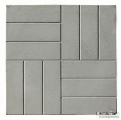 "Тротуарная плитка ""12- кирпичей"" размер 500х500х60"